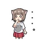 猫耳女子(個別スタンプ:13)