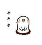 白インコ 【標準語編】(個別スタンプ:17)