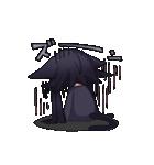 黒い猫耳娘ちゃん(個別スタンプ:10)