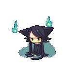 黒い猫耳娘ちゃん(個別スタンプ:14)