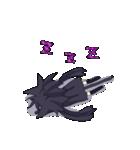 黒い猫耳娘ちゃん(個別スタンプ:15)