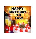 ずっと使える大人の誕生日とお祝い・年賀状(個別スタンプ:01)