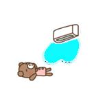 ほんわかクマの二郎|夏ver.(個別スタンプ:11)