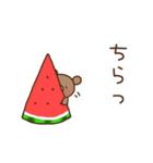 ほんわかクマの二郎|夏ver.(個別スタンプ:23)