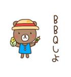 ほんわかクマの二郎|夏ver.(個別スタンプ:28)