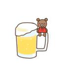 ほんわかクマの二郎|夏ver.(個別スタンプ:33)