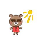 ほんわかクマの二郎|夏ver.(個別スタンプ:34)