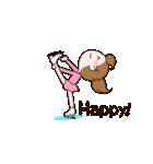 動く!英語版可愛い丸顔フィギュアスケート2(個別スタンプ:06)
