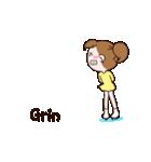 動く!英語版可愛い丸顔フィギュアスケート2(個別スタンプ:09)