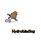 動く!英語版可愛い丸顔フィギュアスケート2(個別スタンプ:16)