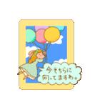 WanとBoo (お姫さま編)(個別スタンプ:18)