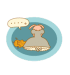 WanとBoo (お姫さま編)(個別スタンプ:32)