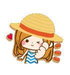 【夏季】大人かわいい癒し(個別スタンプ:16)