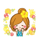 【夏季】大人かわいい癒し(個別スタンプ:17)