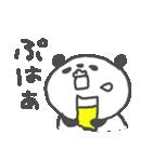 お酒大好きパンダスタンプ5 love sake(個別スタンプ:06)