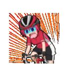 サイクリングガールズ(個別スタンプ:3)