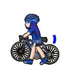 サイクリングガールズ(個別スタンプ:15)