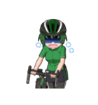 サイクリングガールズ(個別スタンプ:16)