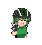 サイクリングガールズ(個別スタンプ:22)