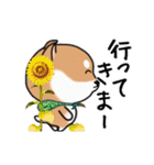 まる柴っちの夏(個別スタンプ:9)