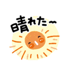 お天気スタンプ(雨と晴れ)(個別スタンプ:28)