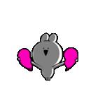すこぶる動くクレイジーウサギ5(個別スタンプ:10)