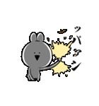 すこぶる動くクレイジーウサギ5(個別スタンプ:23)