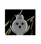 すこぶる動くクレイジーウサギ5(個別スタンプ:24)