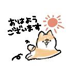日常会話をする犬+(個別スタンプ:09)