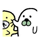 あざらしさん&アザラシさん(個別スタンプ:10)