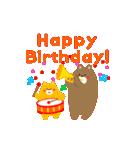 動く!お祝い&誕生日おめでとう☆キラキラ(個別スタンプ:05)
