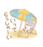 夏の日常❤️いやしばいぬ❤️18(個別スタンプ:22)