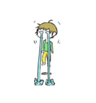 涙目男子(個別スタンプ:13)
