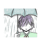 涙目男子(個別スタンプ:30)