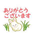 赤ちゃんウサギ 毎日使う言葉(個別スタンプ:8)