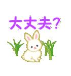 赤ちゃんウサギ 毎日使う言葉(個別スタンプ:25)