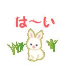 赤ちゃんウサギ 毎日使う言葉(個別スタンプ:29)