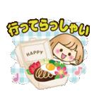 おかっぱ女子【夏の日常】(個別スタンプ:3)