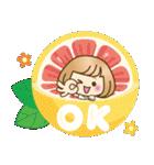 おかっぱ女子【夏の日常】(個別スタンプ:9)