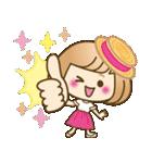 おかっぱ女子【夏の日常】(個別スタンプ:23)