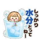 おかっぱ女子【夏の日常】(個別スタンプ:25)