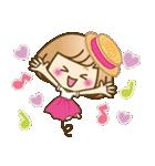 おかっぱ女子【夏の日常】(個別スタンプ:35)