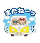 おかっぱ女子【夏の日常】(個別スタンプ:40)