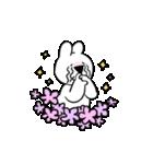 すこぶる動くウサギ【感情爆発!】(個別スタンプ:1)