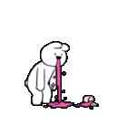 すこぶる動くウサギ【感情爆発!】(個別スタンプ:3)