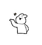 すこぶる動くウサギ【感情爆発!】(個別スタンプ:16)