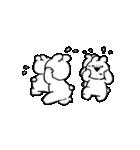 すこぶる動くウサギ【感情爆発!】(個別スタンプ:20)