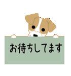 愛犬家の毎日スタンプジャックラッセルcute(個別スタンプ:18)