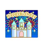 【動く★お誕生日】ロイヤル(個別スタンプ:01)