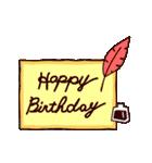【動く★お誕生日】ロイヤル(個別スタンプ:10)